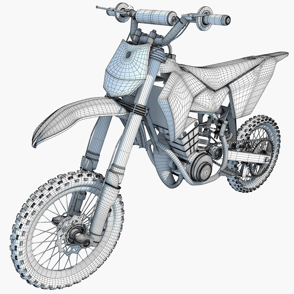 3D Motorcycles Models