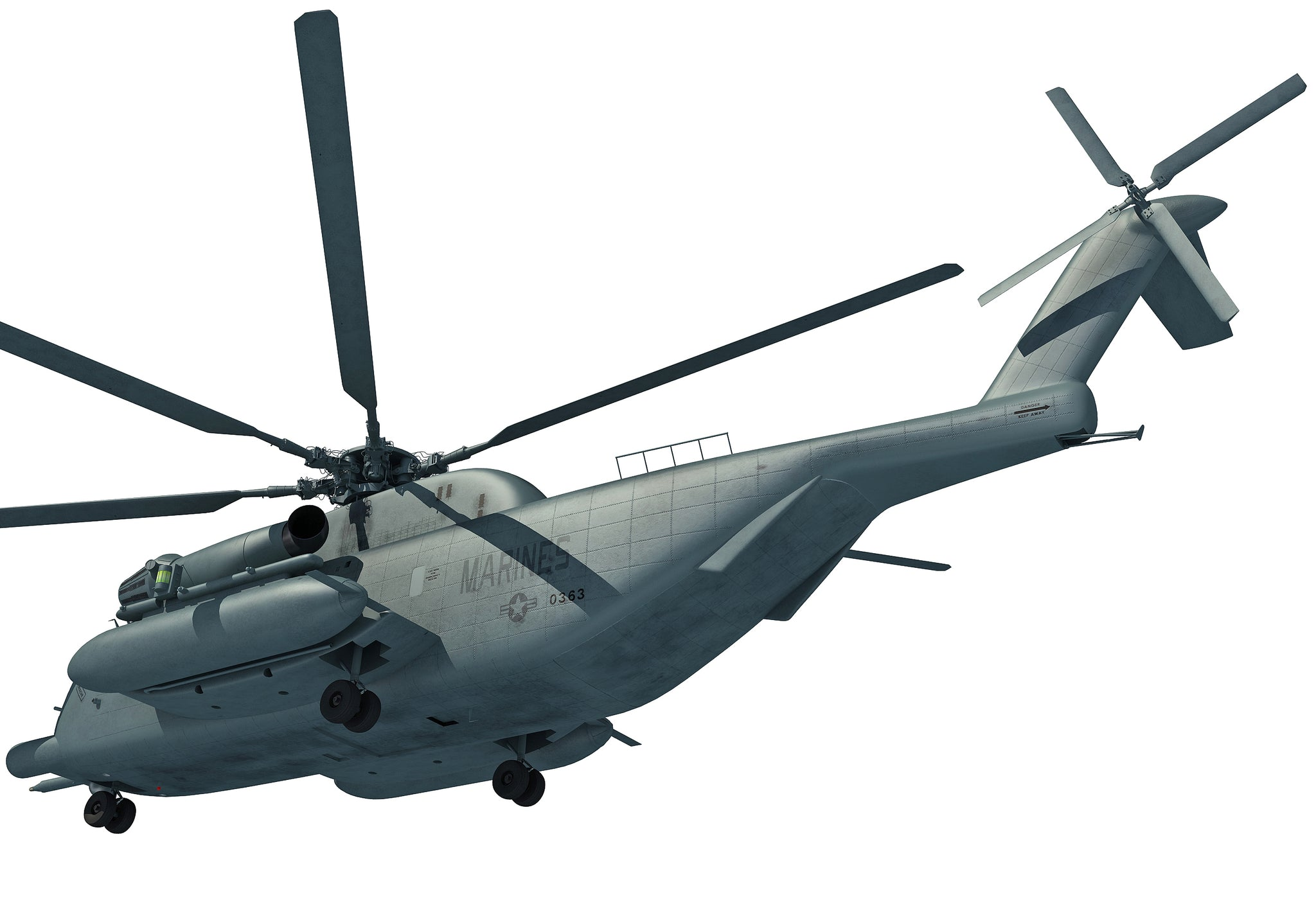 3D Helicopter Super Stallion