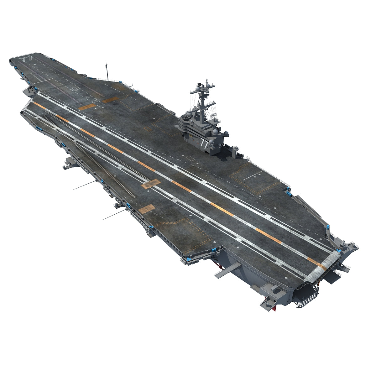 Aircraft Carriers 3D Models