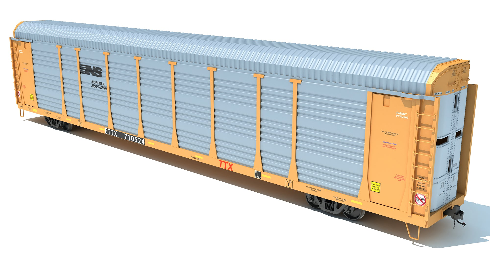 Auto Carrier Rail Car