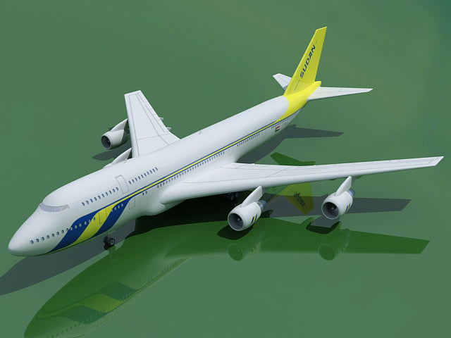 Boeing 3D Aircraft | 20 Airline Textures