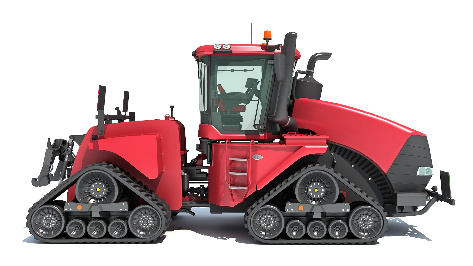 Tracked Articulated Tractor