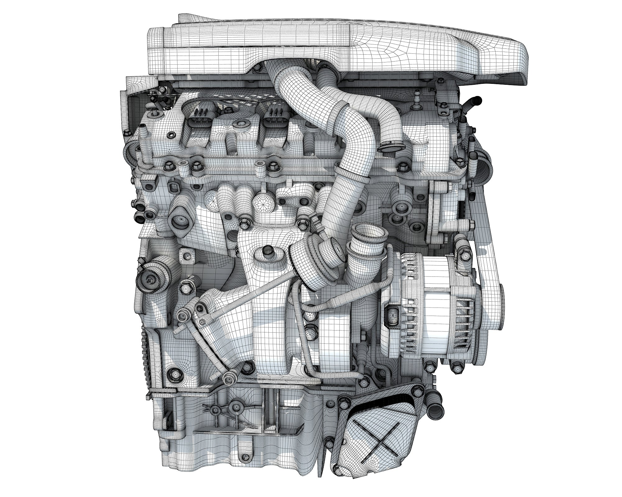 CadillacV6 Engine
