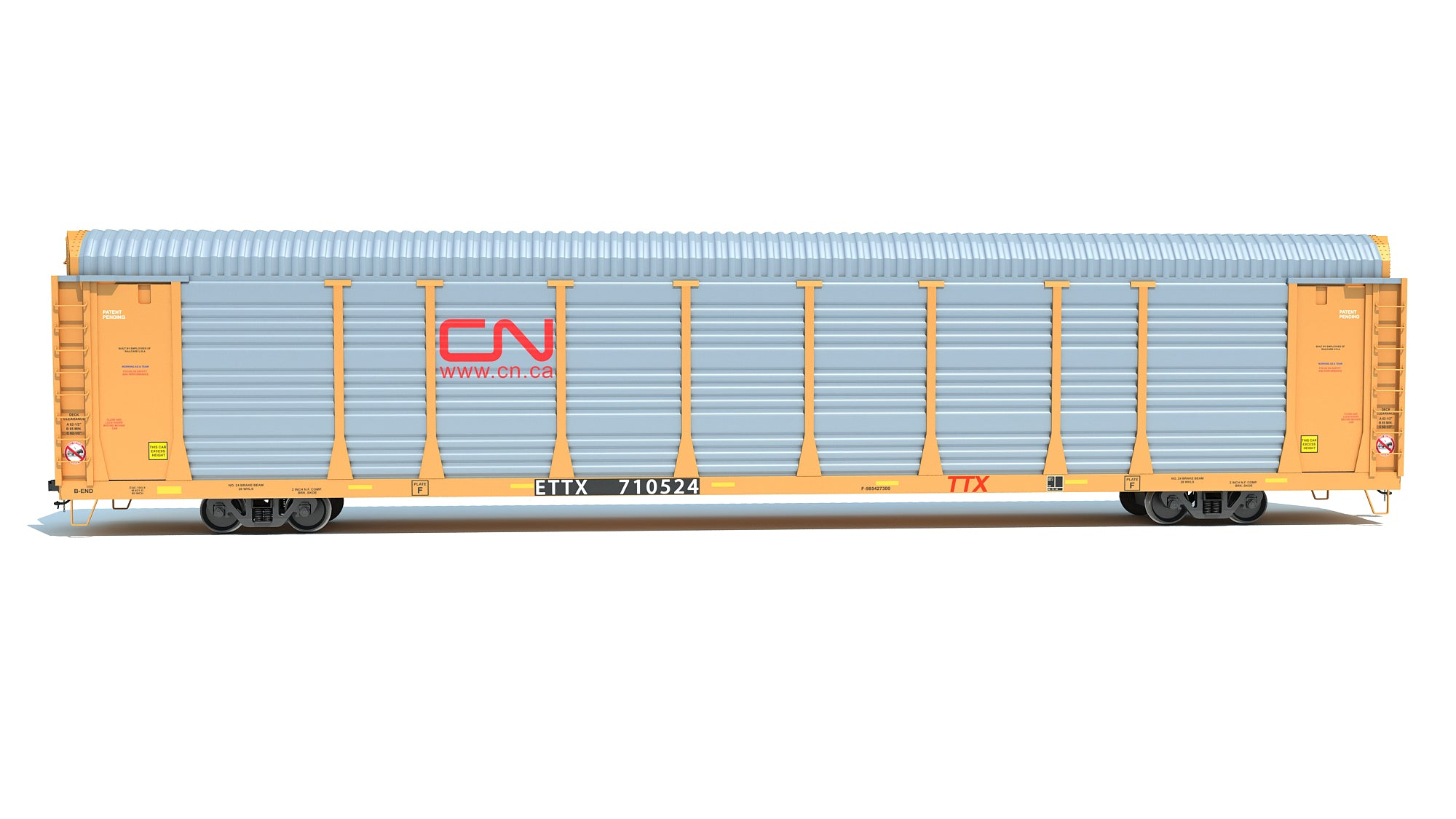 Canadian National Auto Carrier