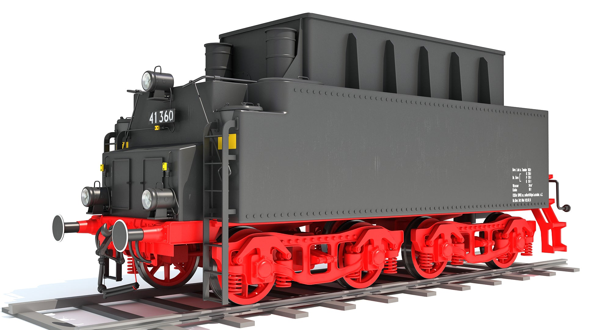 3D Models Coal Tender
