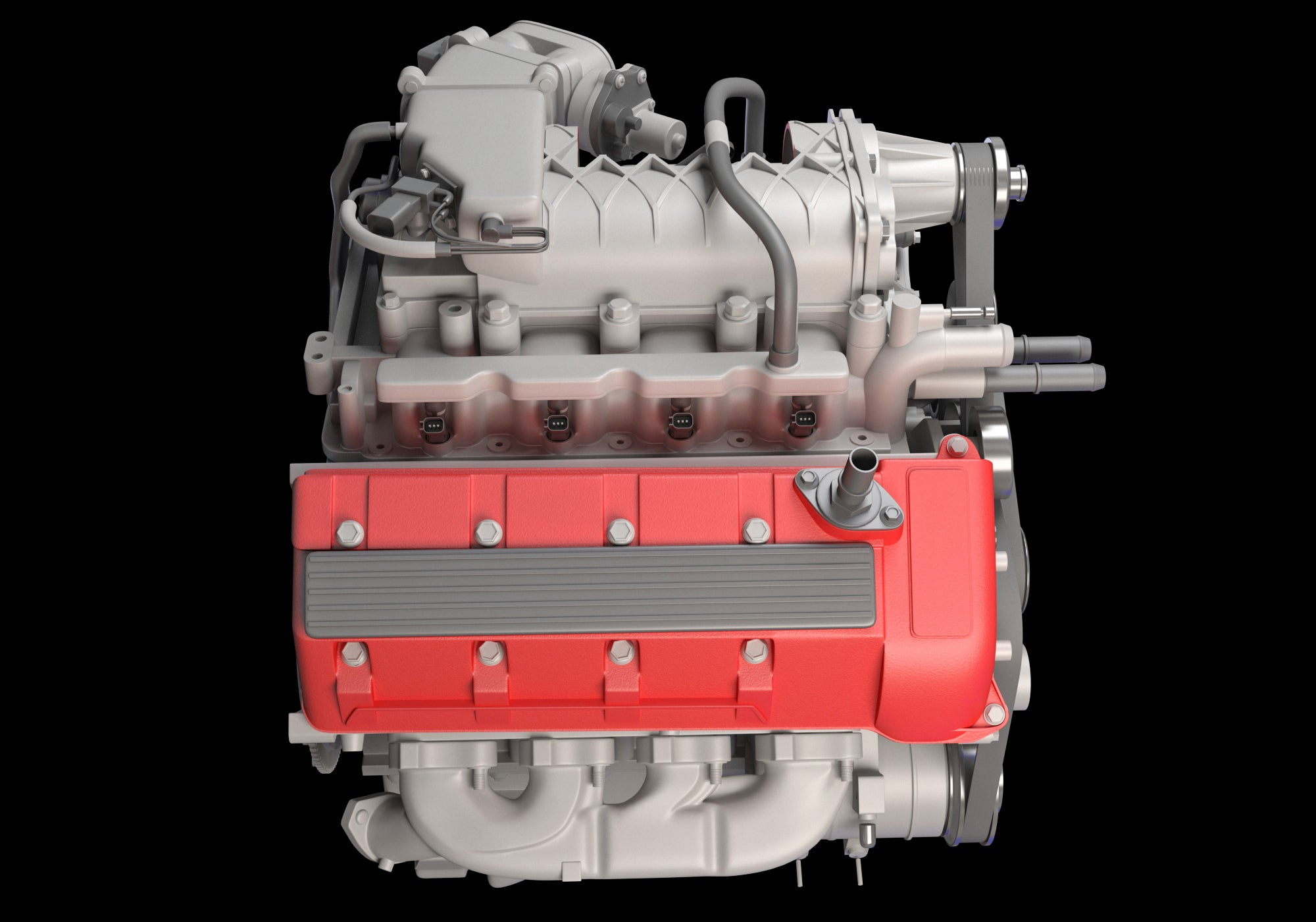 Animated Cutaway V8 Engine Ignition