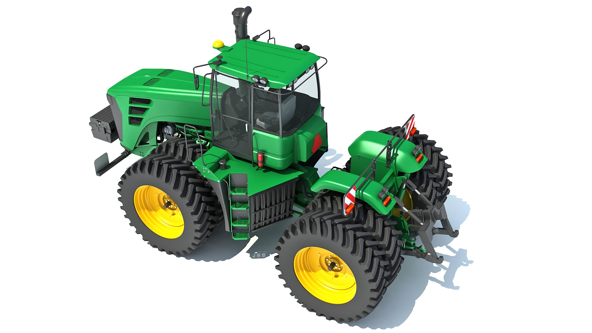 Articulated Tractor
