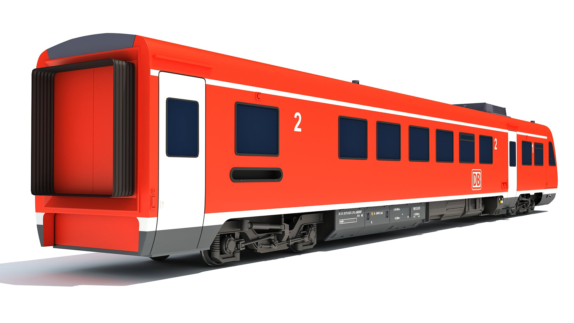 Deutsche Bahn Locomotive Train