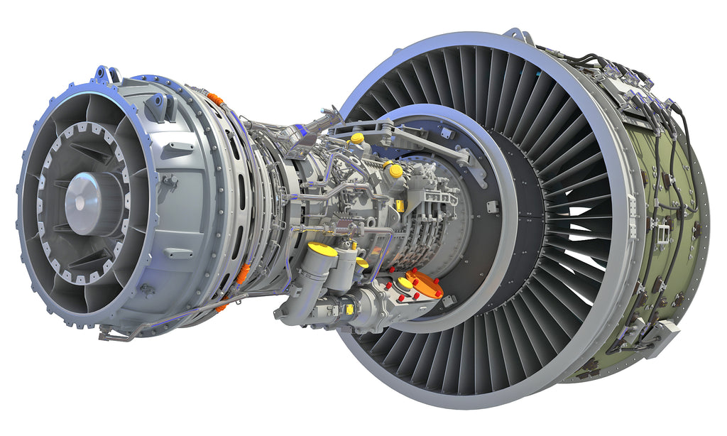Geared Turbofan Engine with Interior
