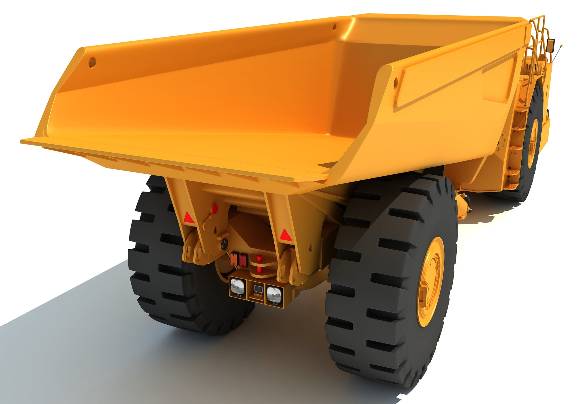 Hard Rock Mining Truck 3D Models