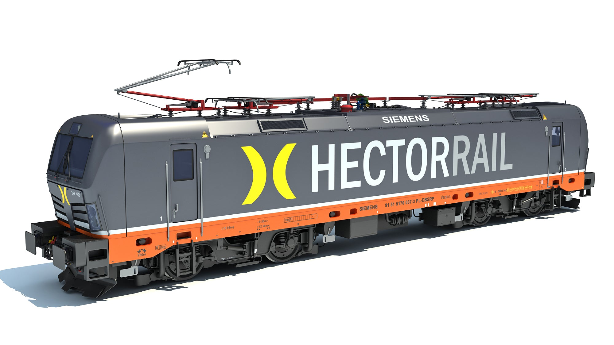 Hector Rail Siemens Vectron Locomotive