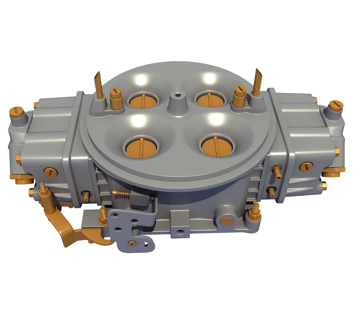 Holley Carburetor 3D Model