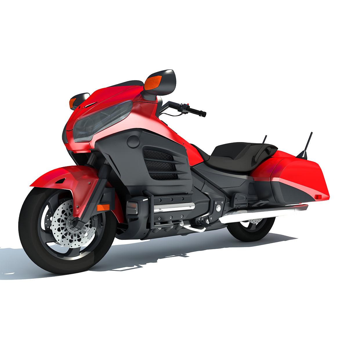 3D New Motorcycles