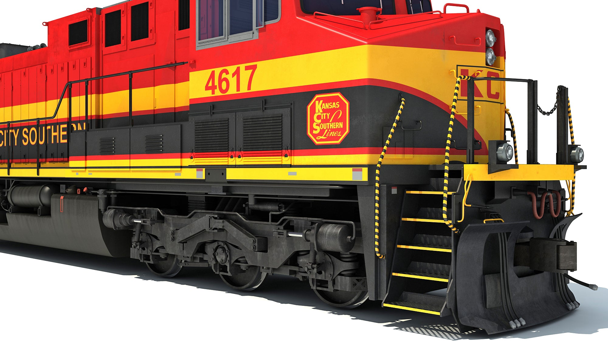 Kansas City Southern Locomotive