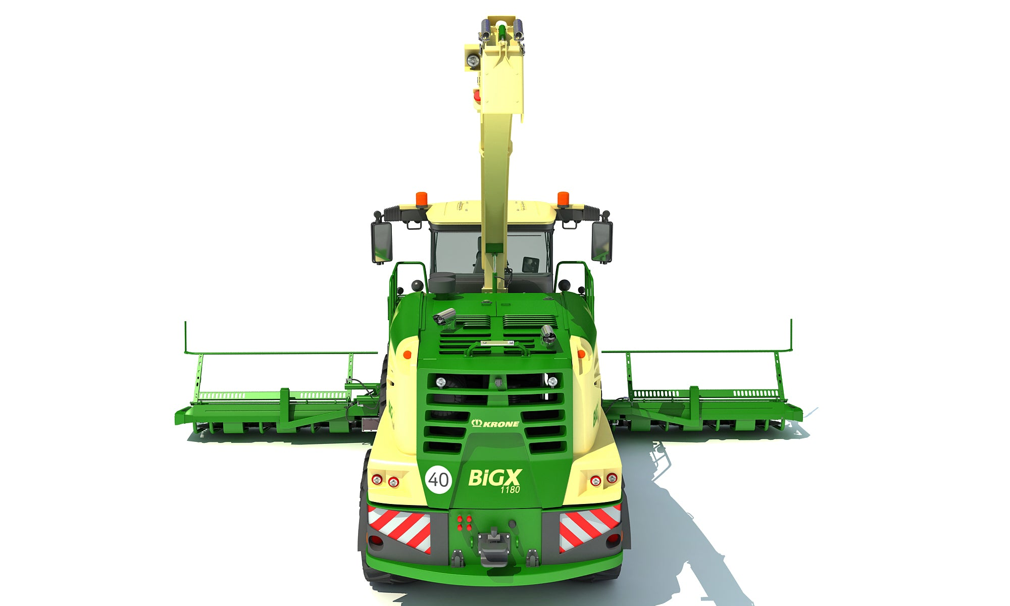 Krone Forage Harvester 3D Models