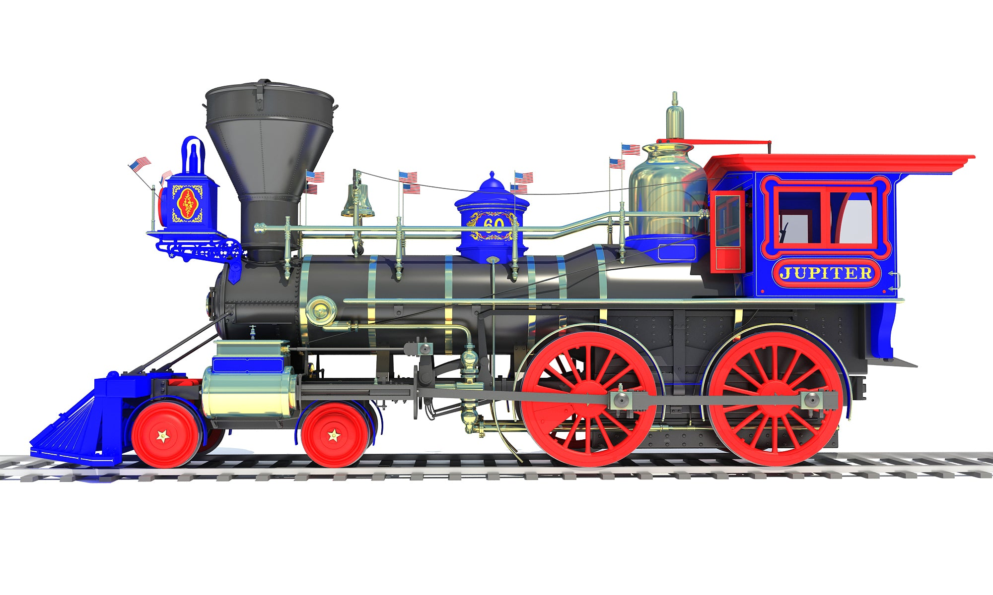 Jupiter Locomotive 3D Models