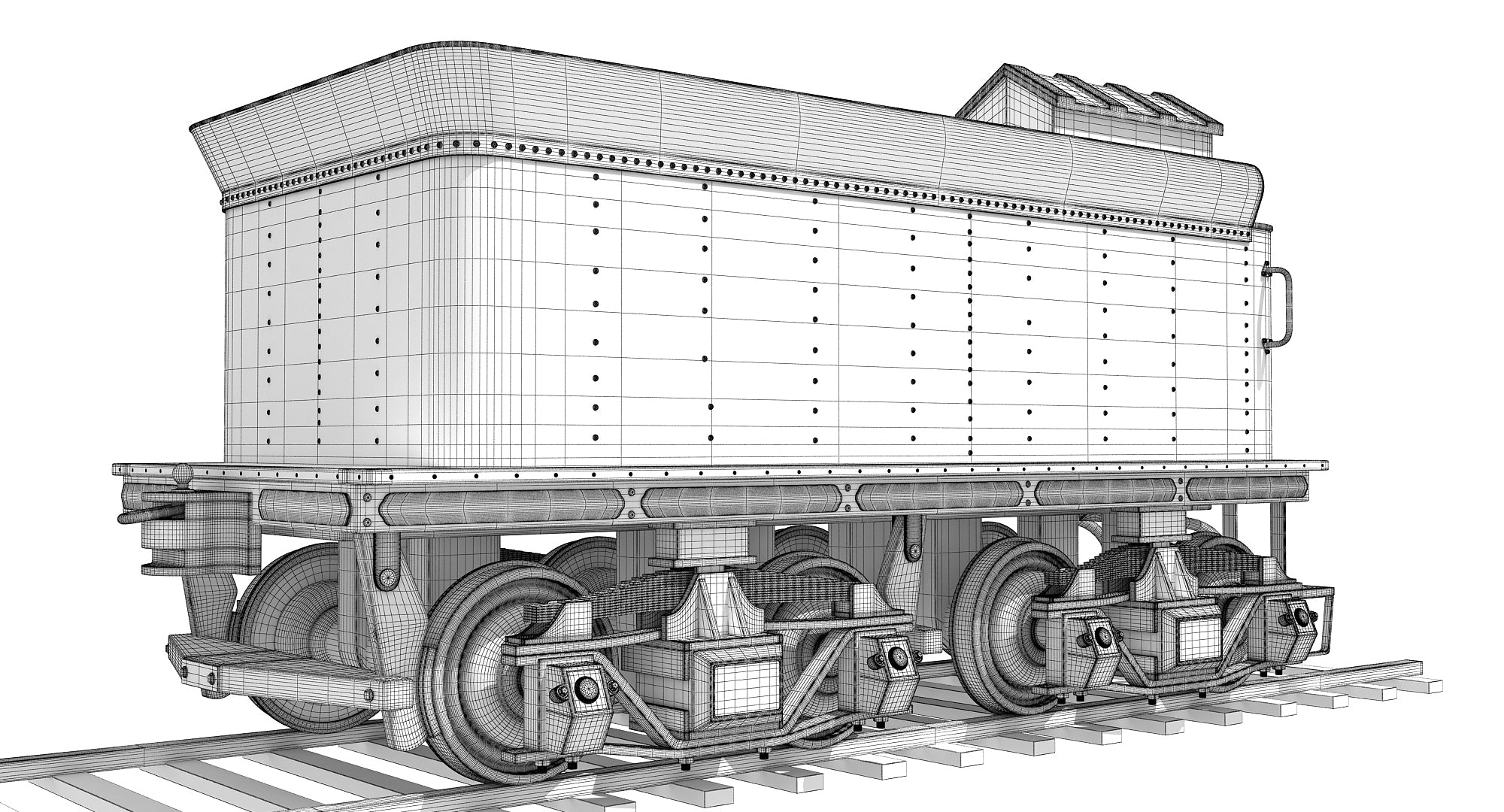Steam Locomotive Tender