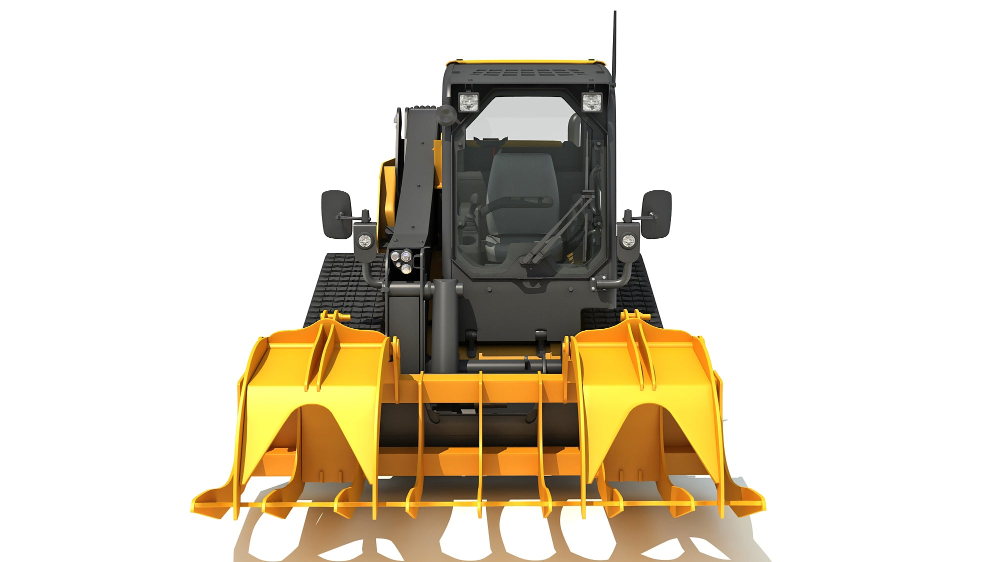 Log Fork Mini Skid Steer Loader