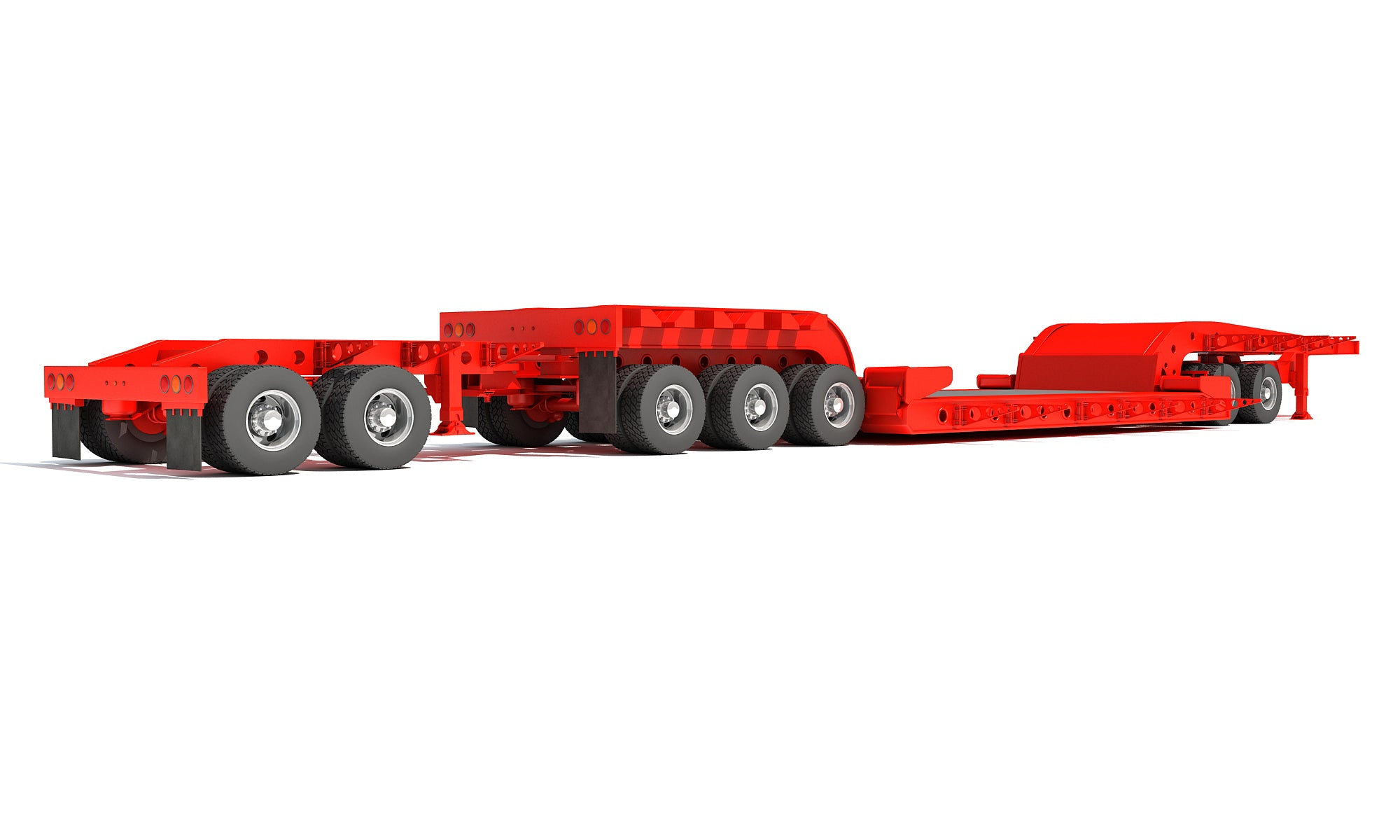 Heavy Haul Lowboy Trailer