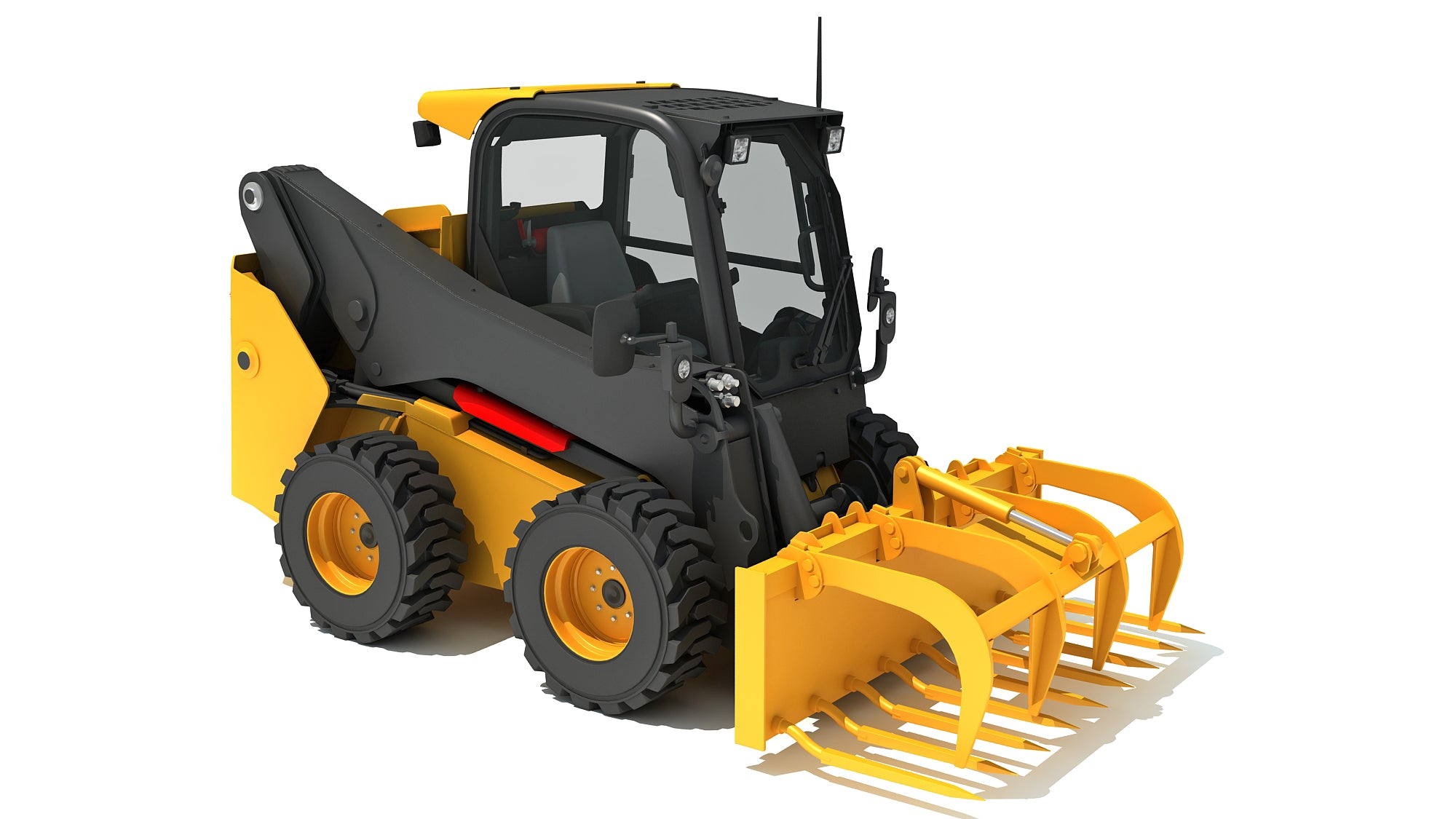Skid Steer Loader Manure Fork