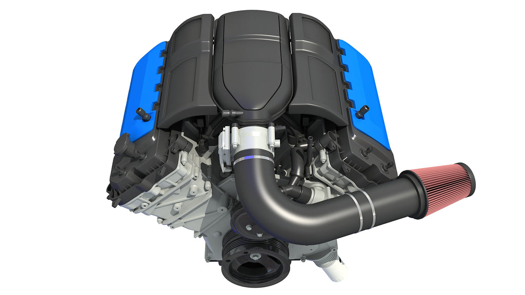 V8 Engine 3D Models