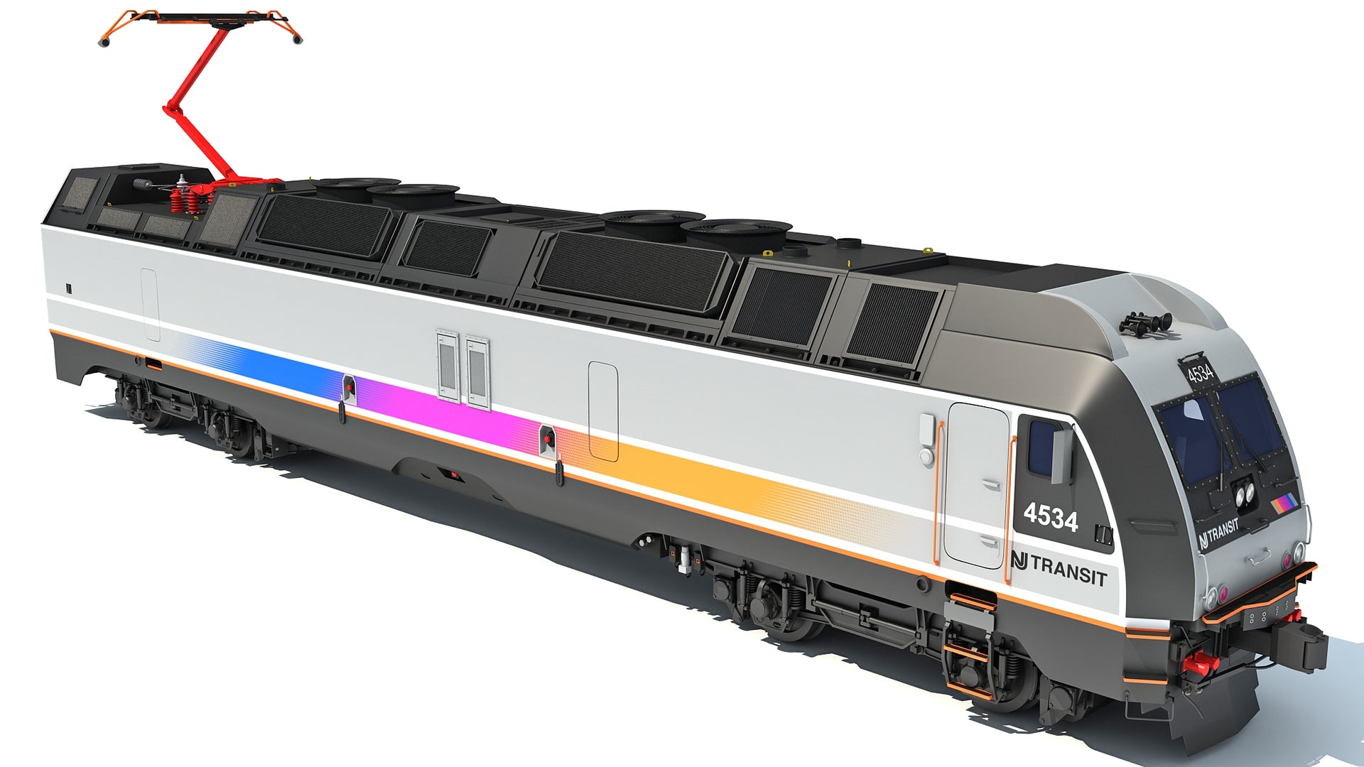 NJ Transit Locomotive Train