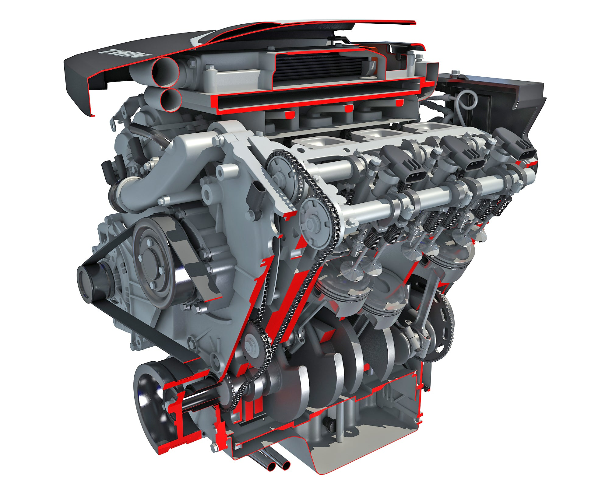 Sectioned Animated Engine