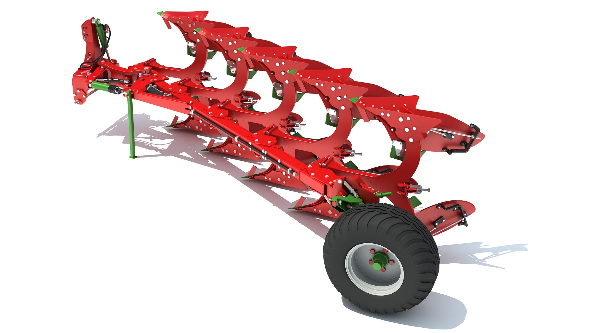 Semi Mounted Plough