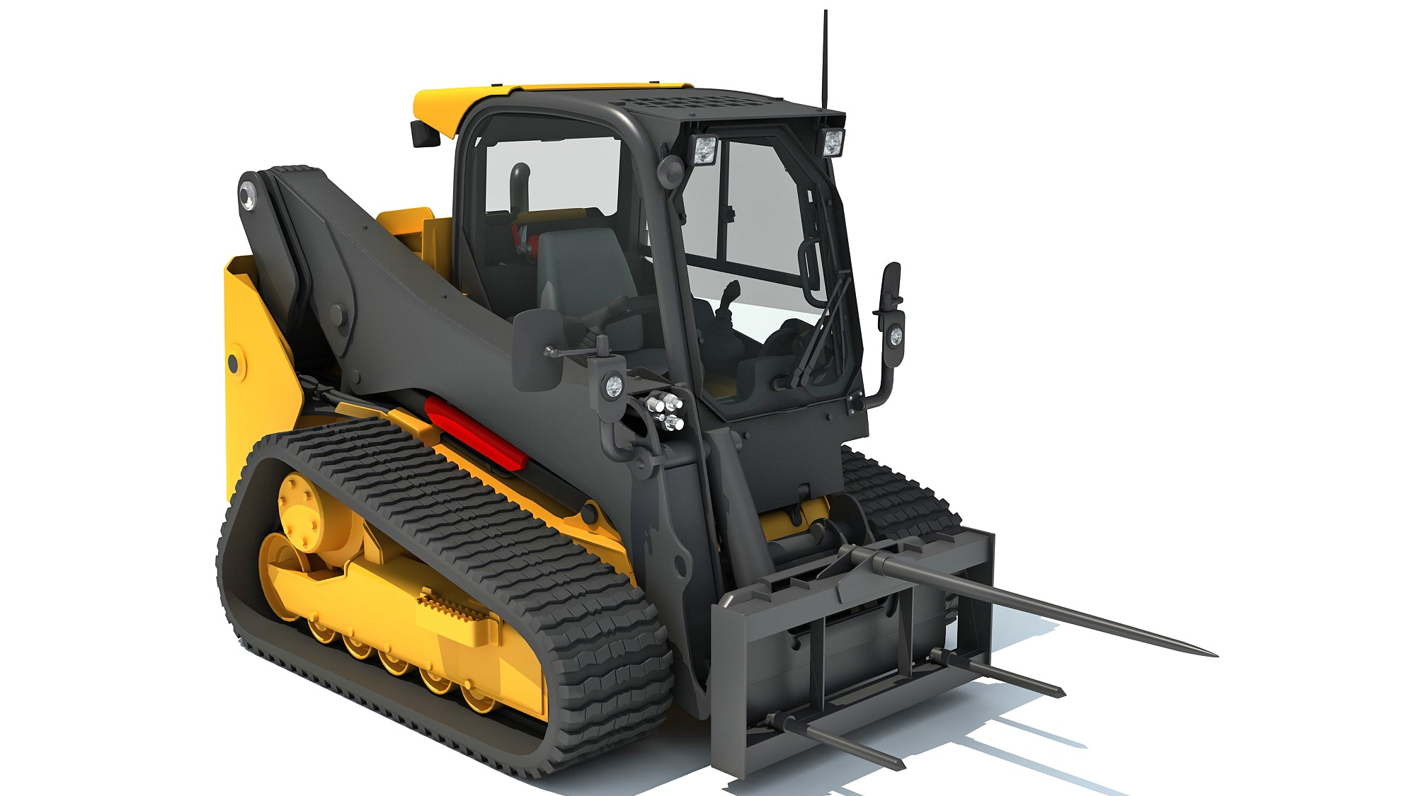 Skid Steer Loader Bale Fork