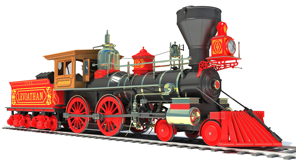 Steam Locomotive Leviathan