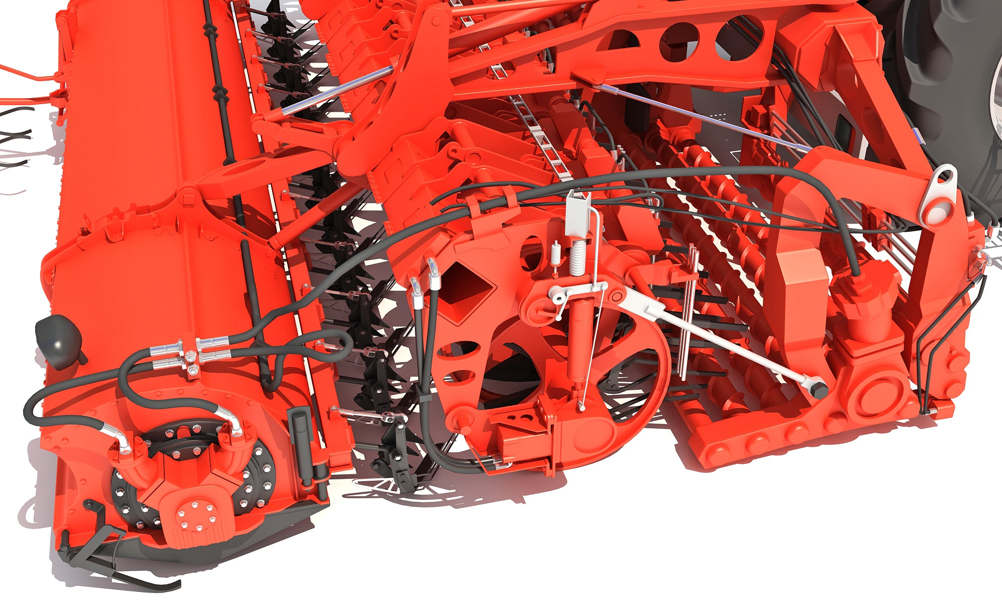 3D Models Sugar Beet Harvester