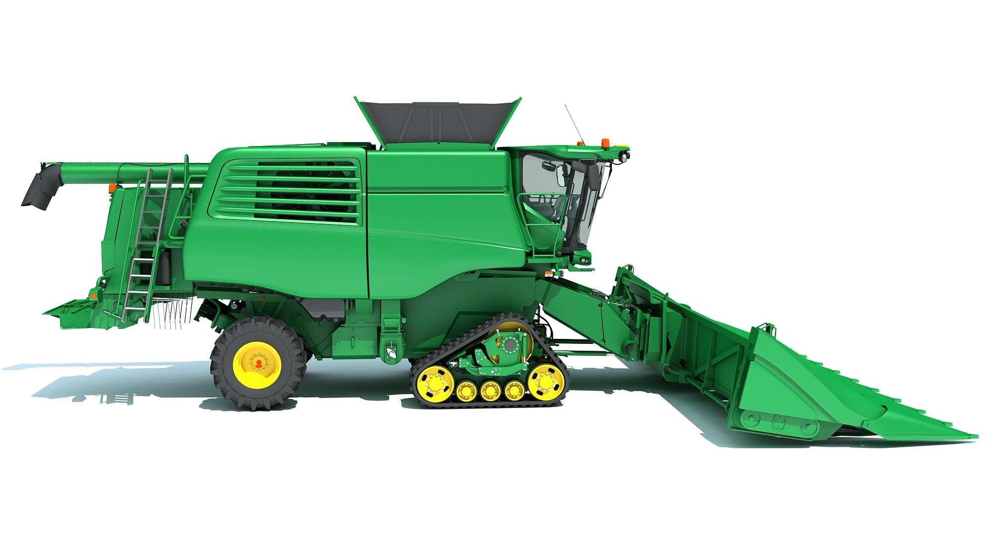 Tracked Combine Harvester