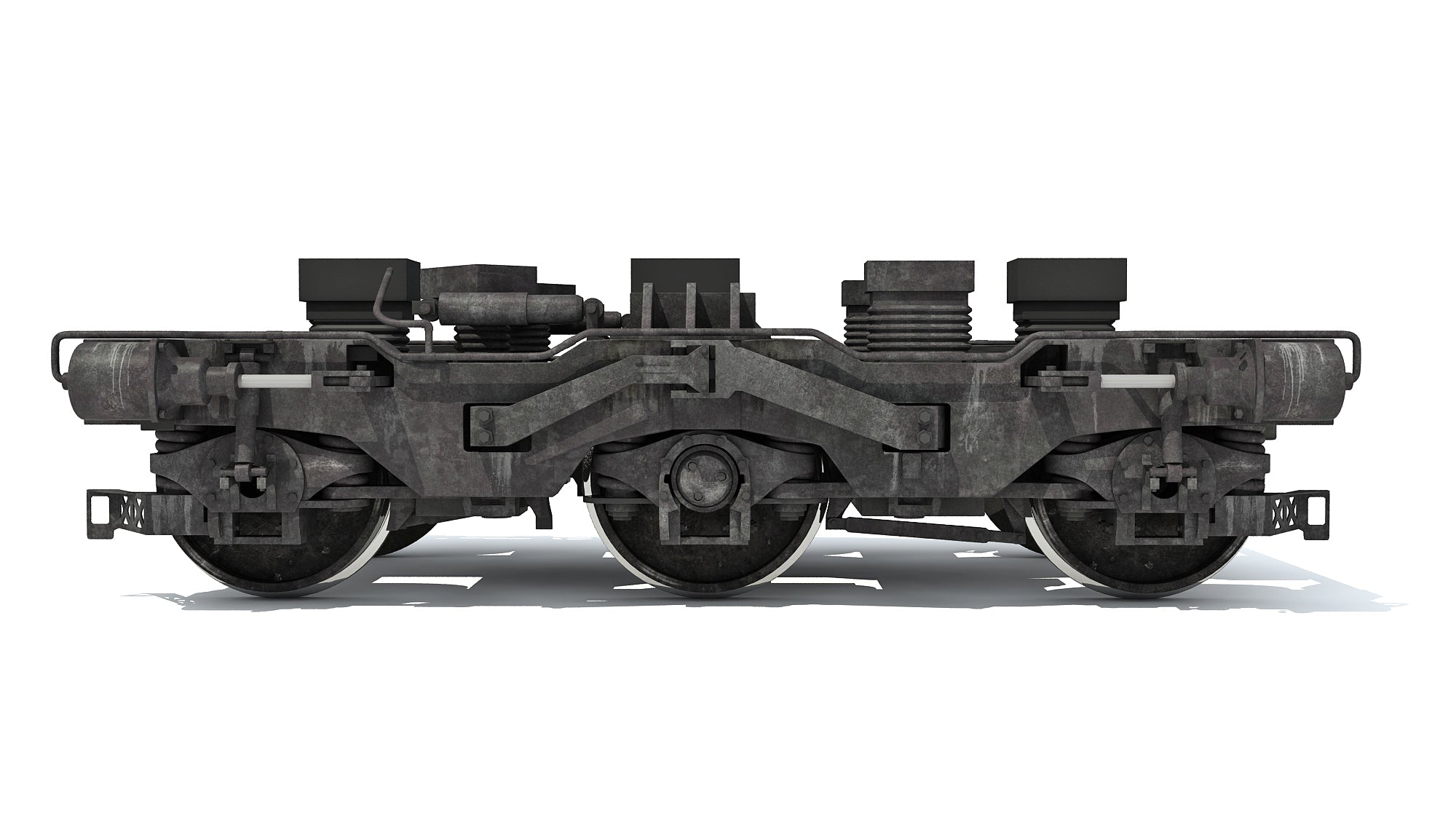 Train Wheels 3D Models