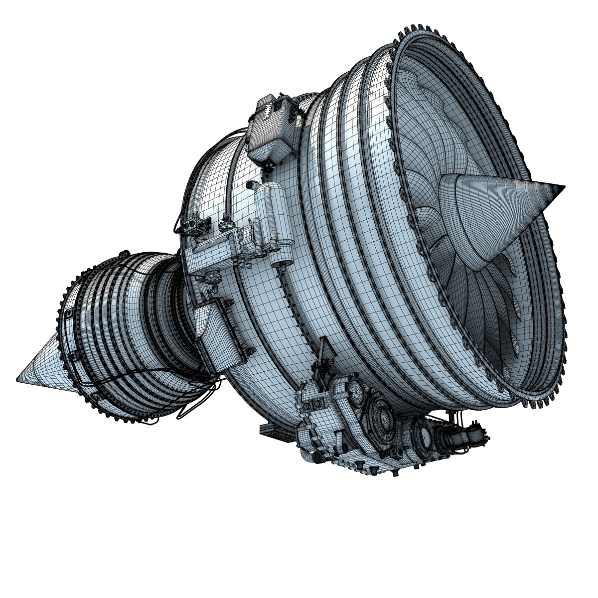 Turbofan Aircraft Engine