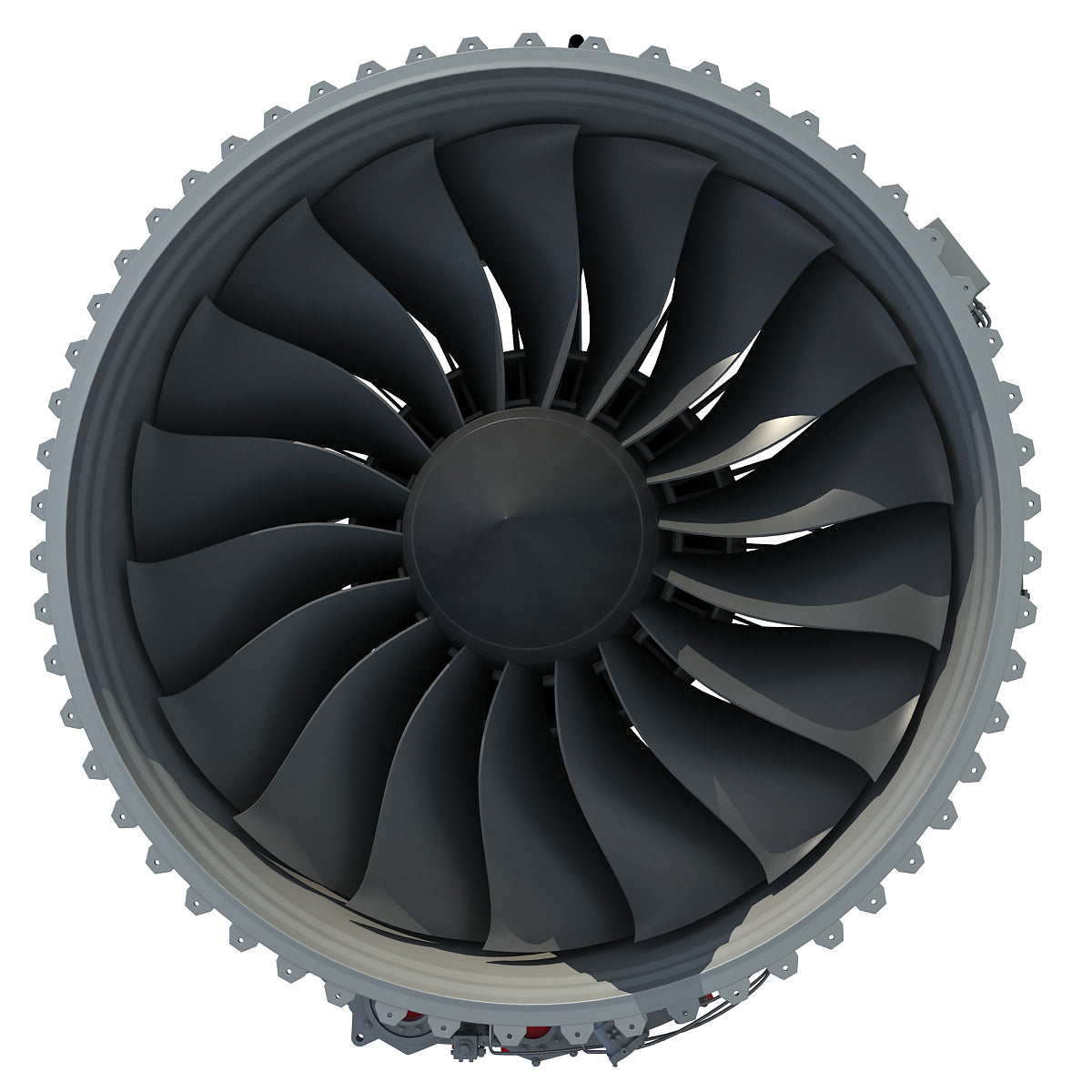 Rolls-Royce Trent 1000 Turbofan Aircraft Engine