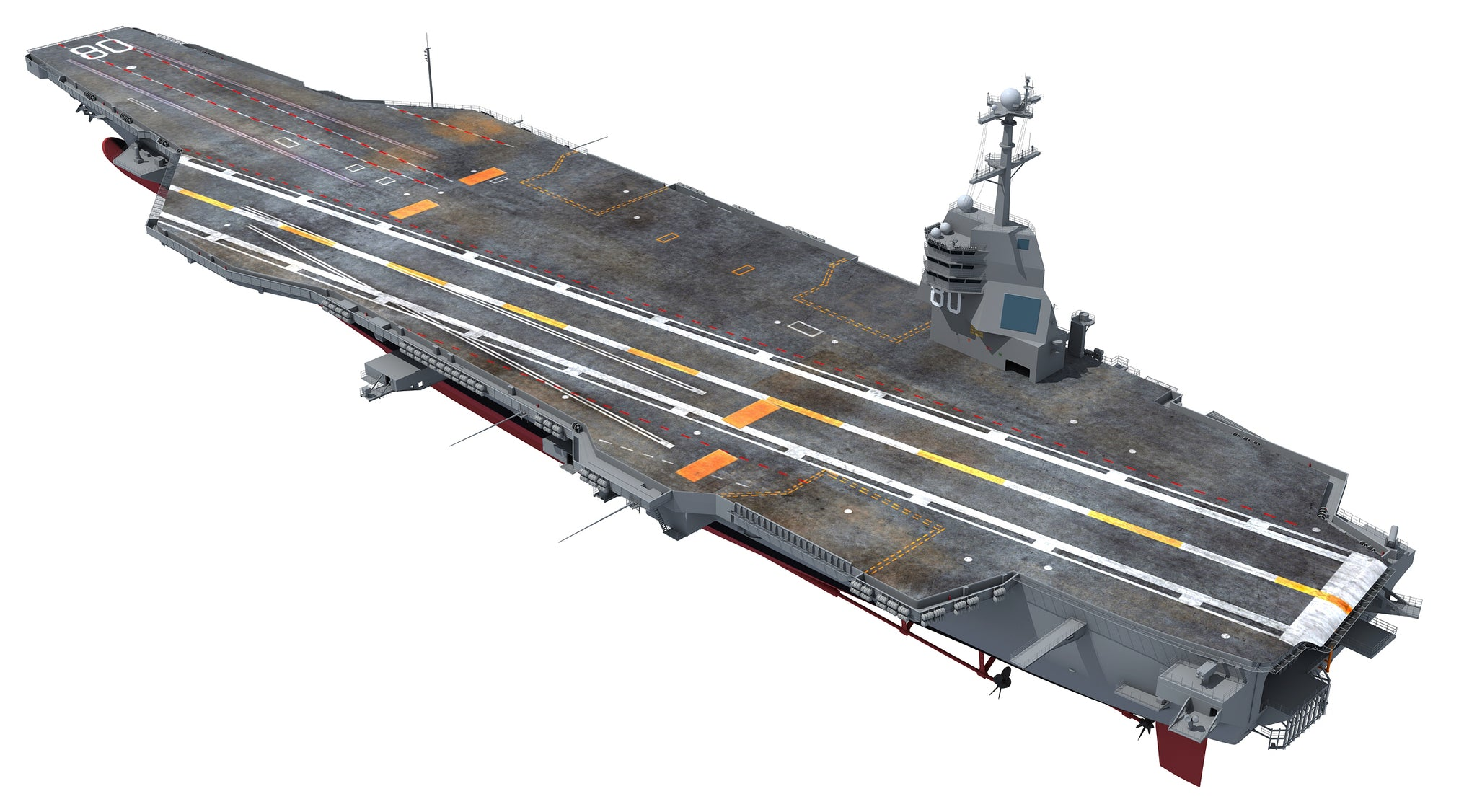 USS Enterprise CVN 80 Aircraft Carrier