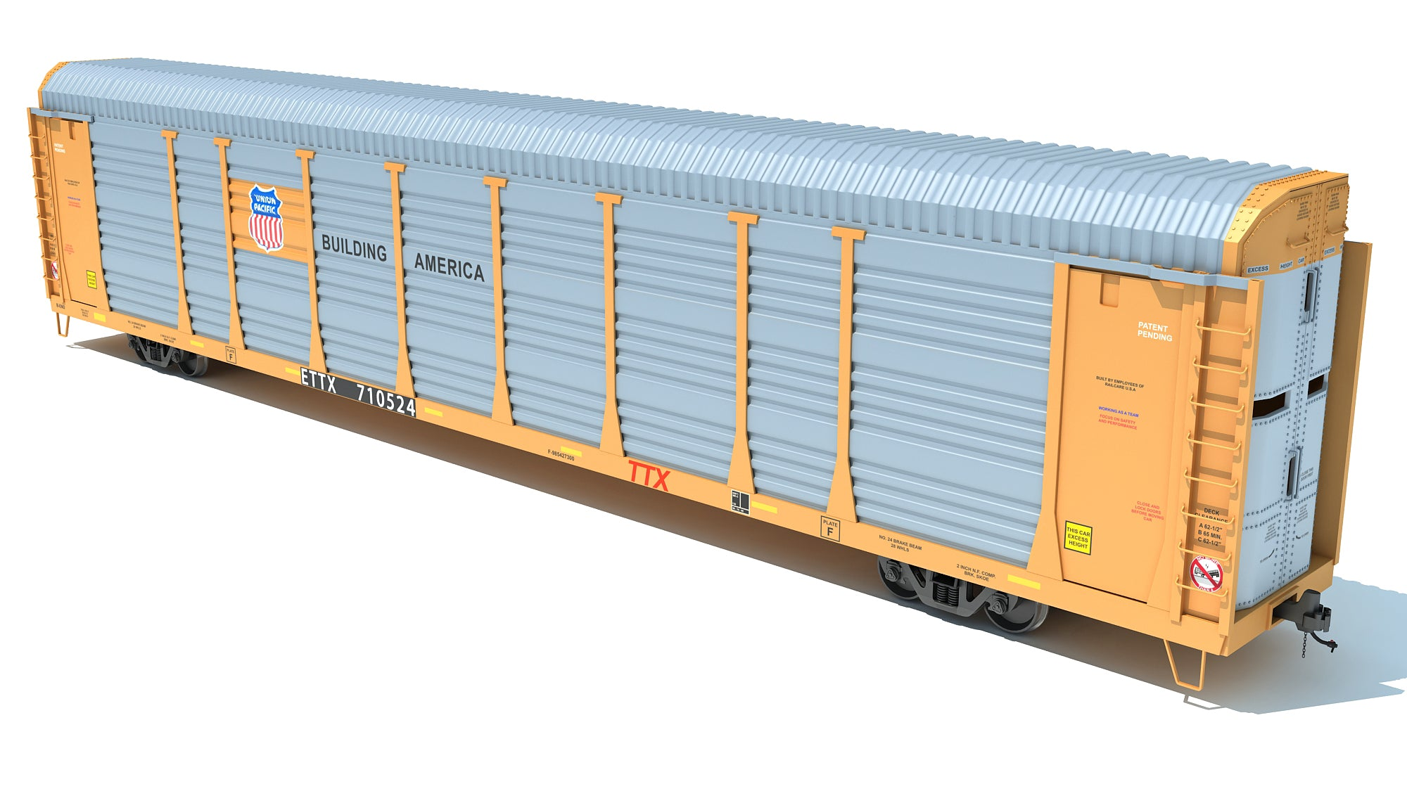 Union Pacific Auto Carrier Car