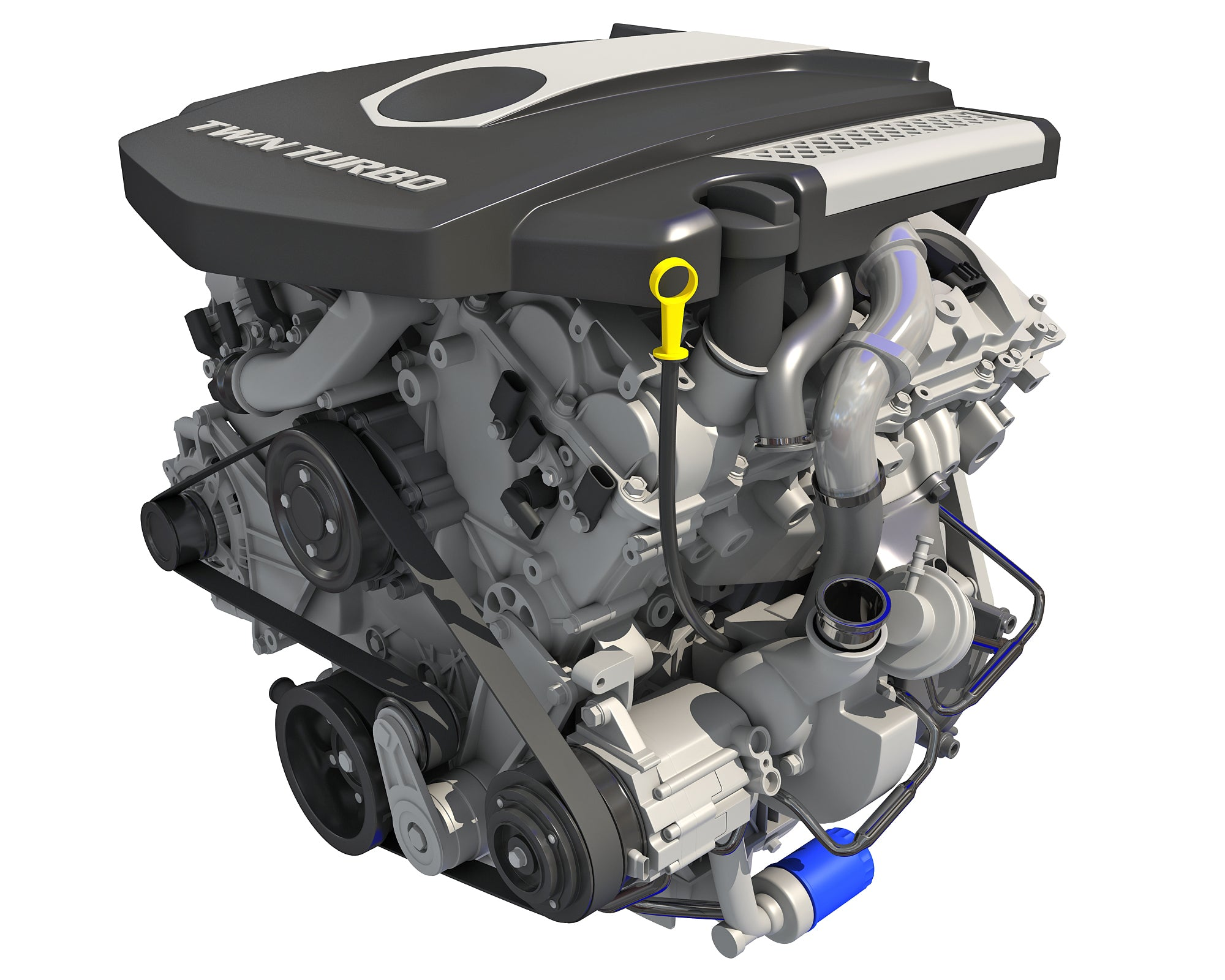 V6 Engine - 3D Models