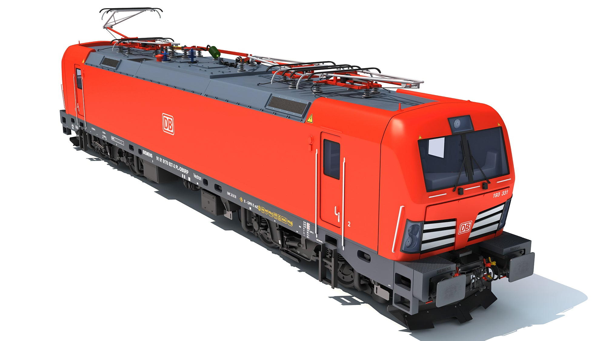 Siemens Vectron Locomotive Deutsche Bahn