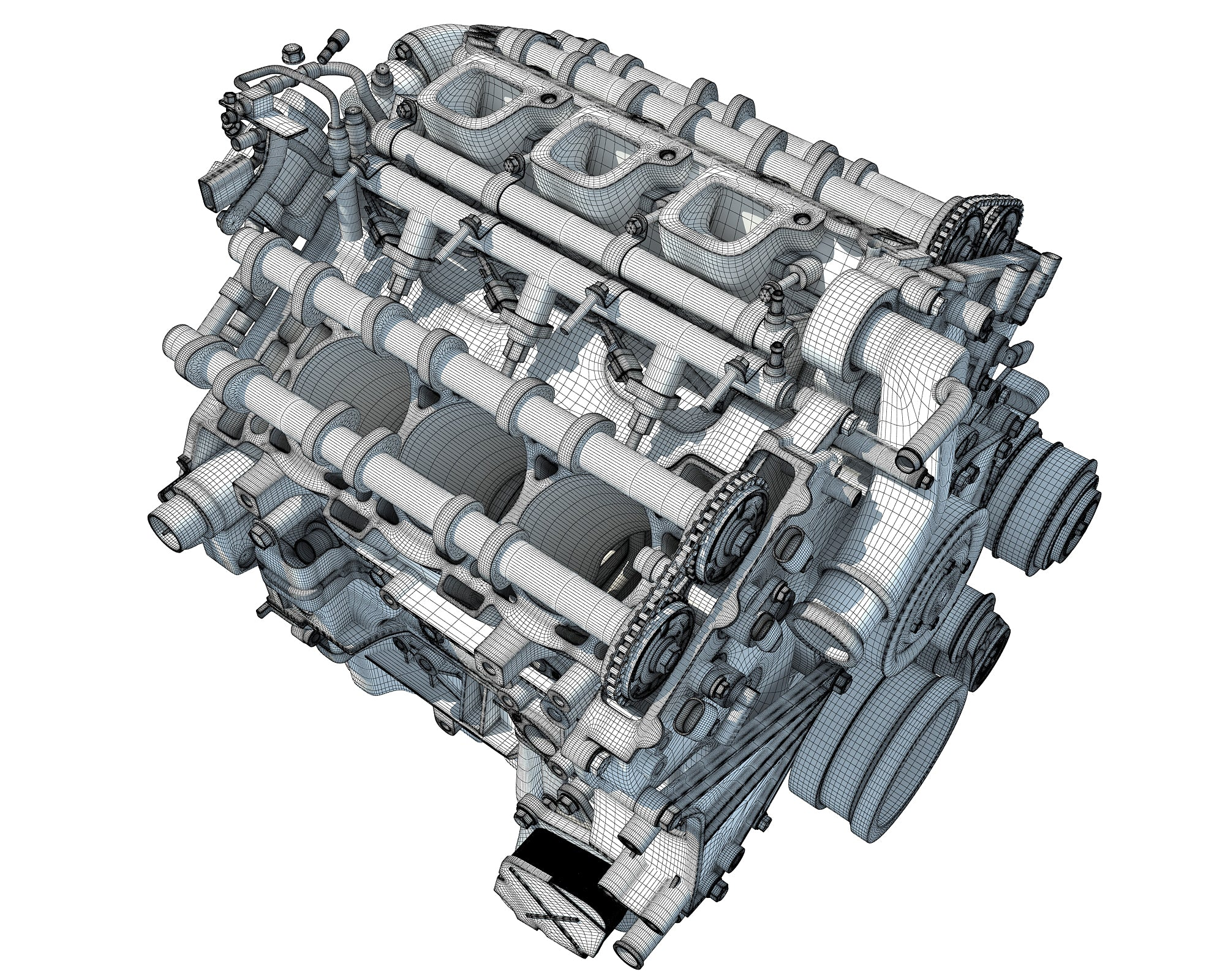 Cadillac TwinPower Engine