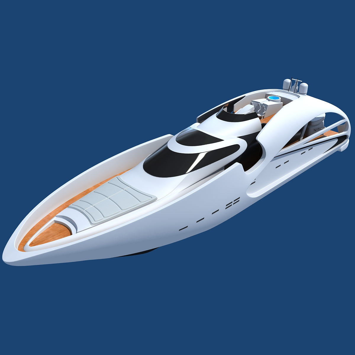 Yachts and Boats 3D Models