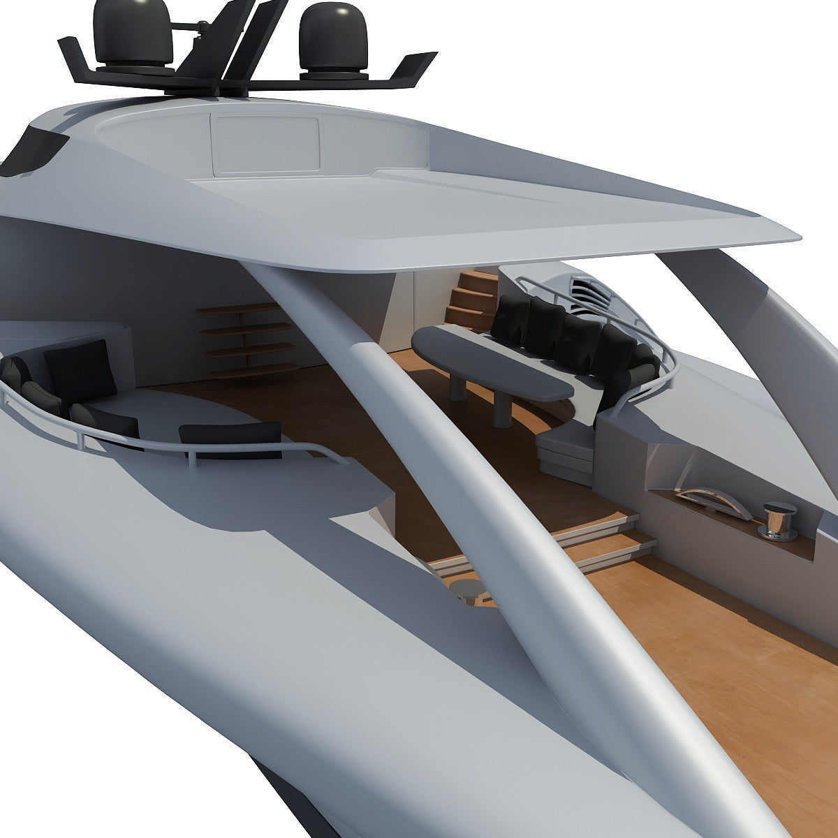 3D Luxury Yachts