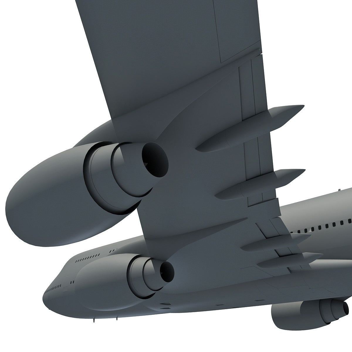 Aircraft Aerial 3D Scene
