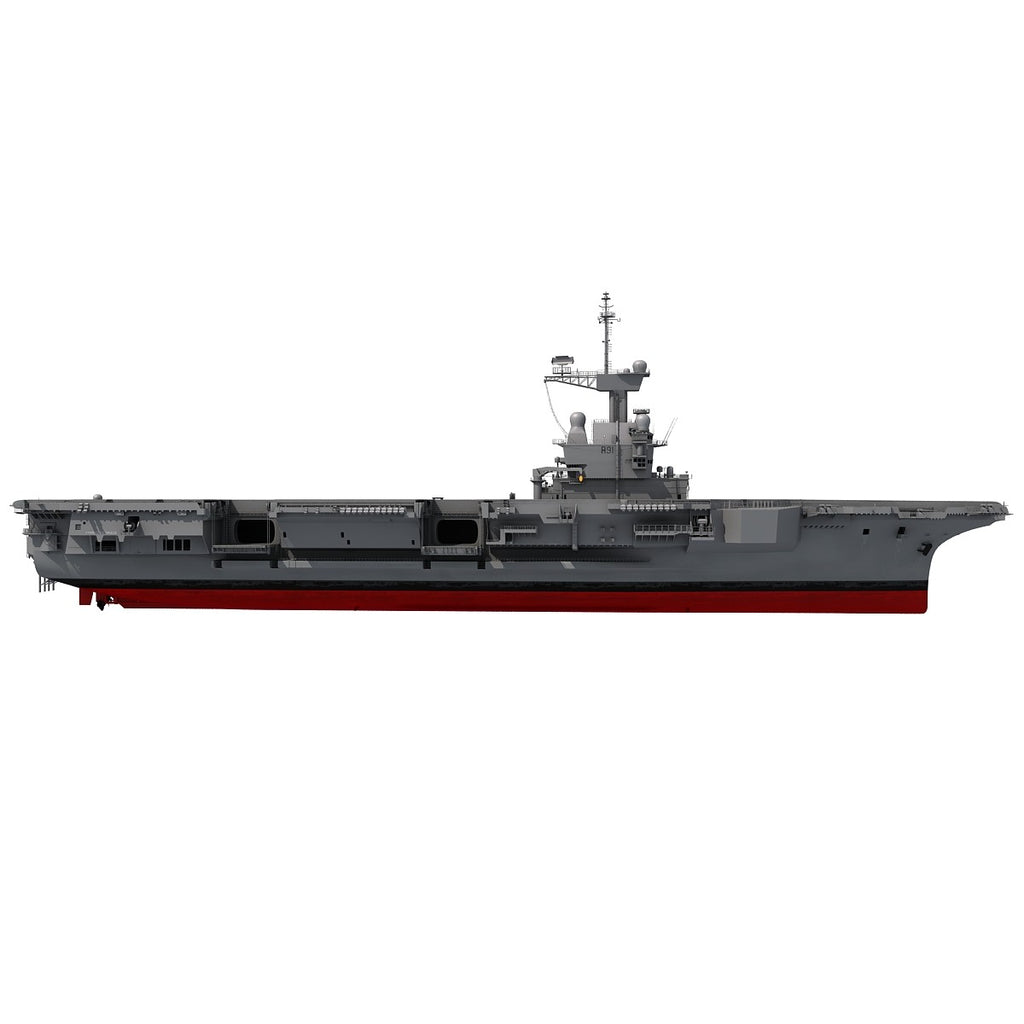 Aircraft Carrier Charles de Gaulle 3D Model