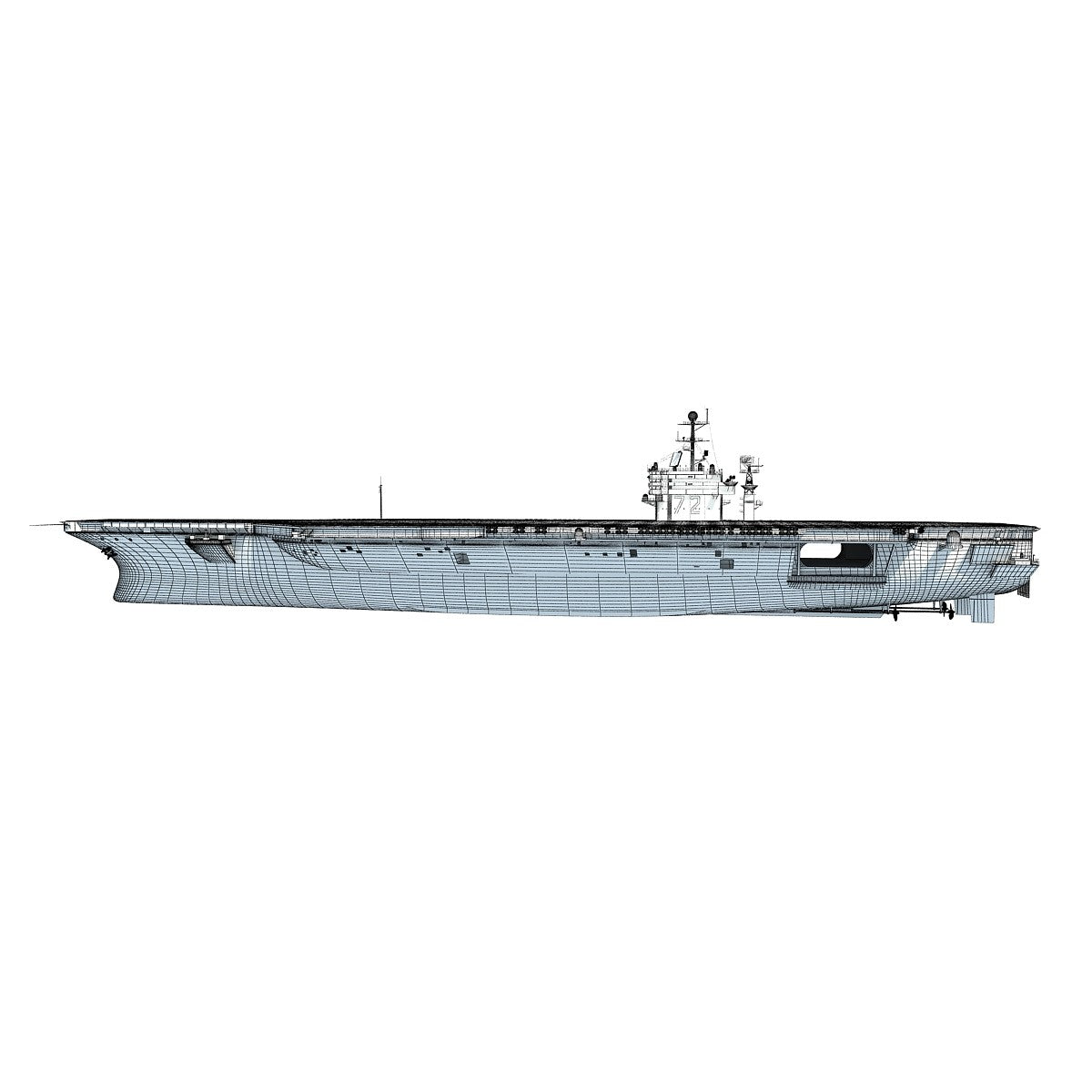 Aircraft Carrier 3D Models