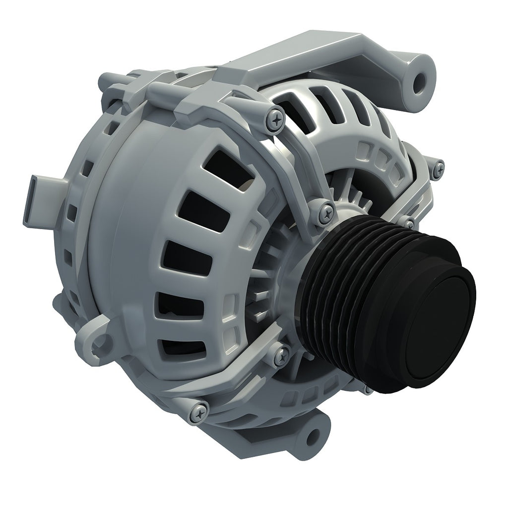 Alternator Engine 3D Model