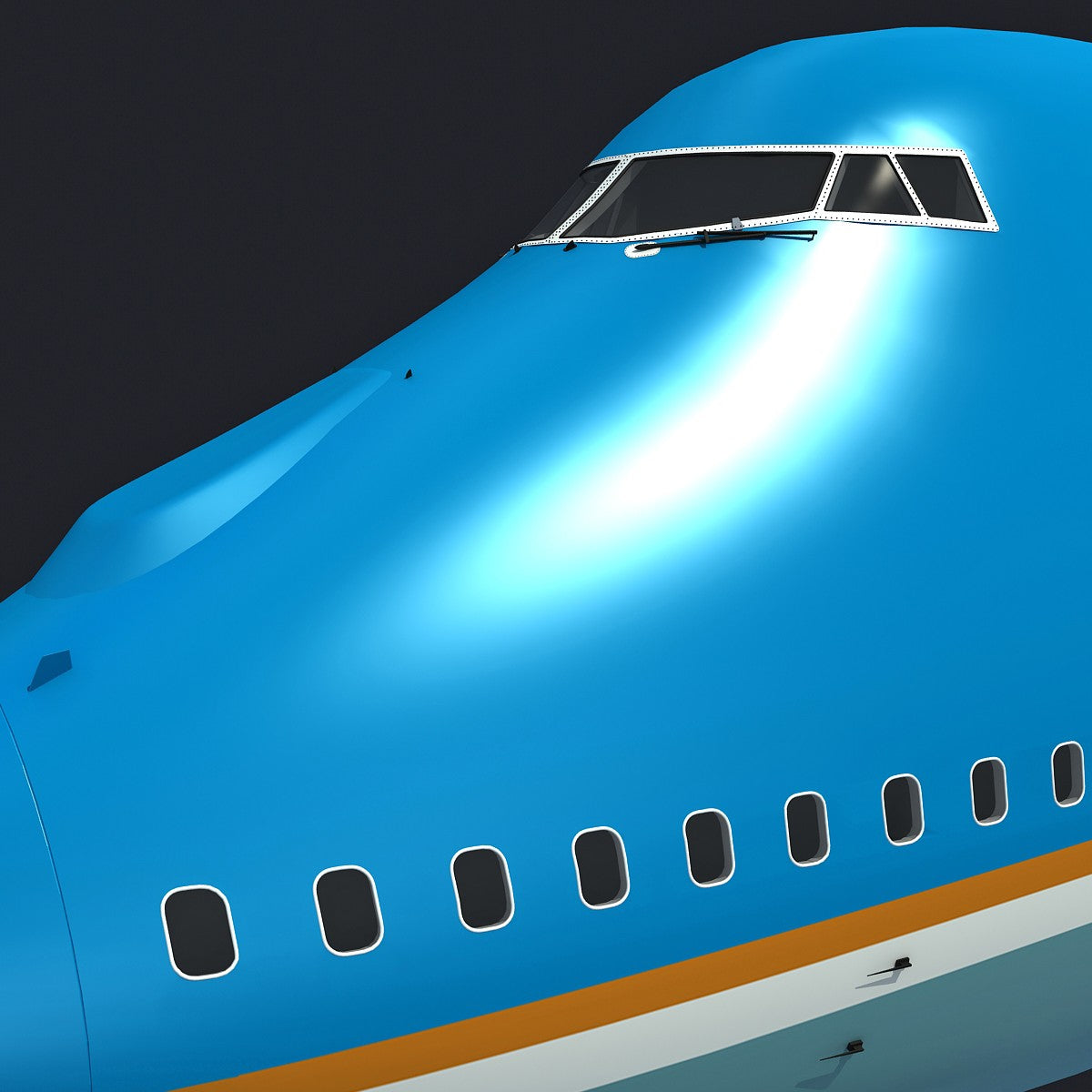 Air Force One VC-25 3D Model