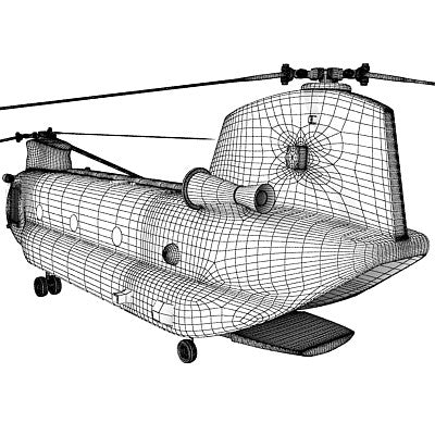 3D Helicopter Models