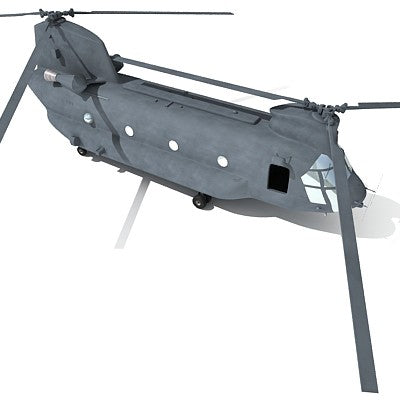 Boeing CH-47 Chinook 3D Helicopter