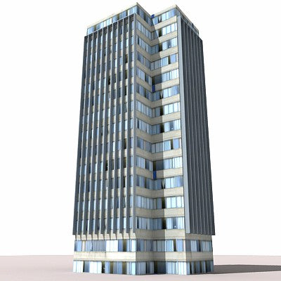 55 Buildings 3D Models